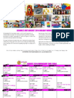 schools out august 2014 workshop calendar