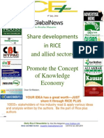 9th July,2014 Daily Global Rice E-Newsletter by Riceplus Magazine