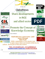 10th July,2014 Daily Exclusive ORYZA E-Newsletter by Riceplus Magazine
