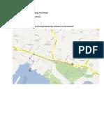 Directions to Pasir Pajang Terminal