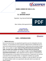 Curso de HACCP Resumen