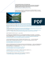 2014 (Hundreds) Links, April-July. Environmental Science. Water. Ecology. 2014. http://ru.scribd.com/doc/233320992/