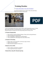 The Boxing Bodyweight Program | Physical Exercise