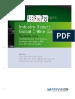 Report Global Online Gaming Social Casino 0