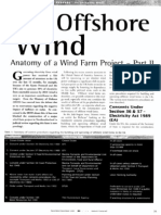 UK offshore wind - Anatomy of a wind farm project — Part II