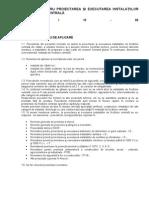 Normativ I 13-2002 - NORMATIV PENTRU PROIECTAREA ŞI EXECUTAREA INSTALAŢIILOR DE ÎNCĂLZIRE CENTRALĂ