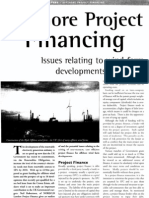 Offshore Project Financing - Issues relating to wind farm developments in the UK