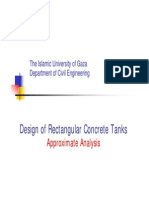 RectangularTanks Approximate Analysis