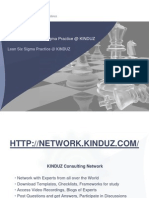 05 of 08 - Lean Six Sigma Overview - Lean Six Sigma Practice at KINDUZ