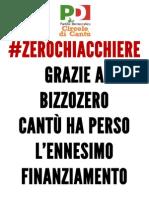 #zerochiacchiere Grazie a Bizzozero Cantù perde l'ennesimo finanziamento