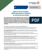 Communiqué VINCI Autoroutes-Départs Estivaux-10 Juillet 2014