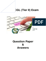 SSC CGL Tier II Question Paper - 445NL6