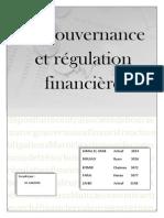 La Gouvernance Et Régulation Financière