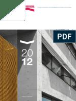 Fonds Kirchberg Rapport Annuel 2012