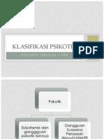 Klasifikasi Psikotik PPDGJ