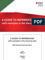 Harvard Referencing Guide - RMIT
