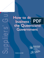 How to Make Business With QLD Gov