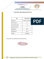 Monoethanoloamine - 99% - Chemiglob.com