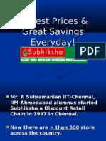 Subhiksha Marketing Management