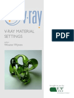 Vray Tutorials Material Settings
