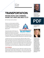 Center for the American Experiment Transportation Policy Blueprint