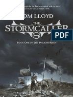 The Stormcaller by Tom Lloyd Extract
