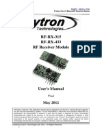 RF Receiver Module Users Manual.doc
