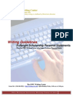 Fulbright Personal Statements Guide and Sample Essays