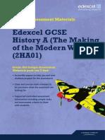 GCSE History - 2009 Specimen Paper and Markschemes