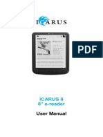 E800BK Man ICARUS8 User Manual