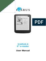 E800BK Man ICARUS8 User Manual