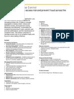 01 PartnerINTERNAL SAP Access Control 1 Page Overview Partner Portal