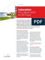 Colocation - The Logical Home for the Cloud