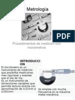 Sesión 8 Medición con micrómetros