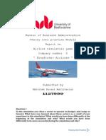 Kf Airline Simulation