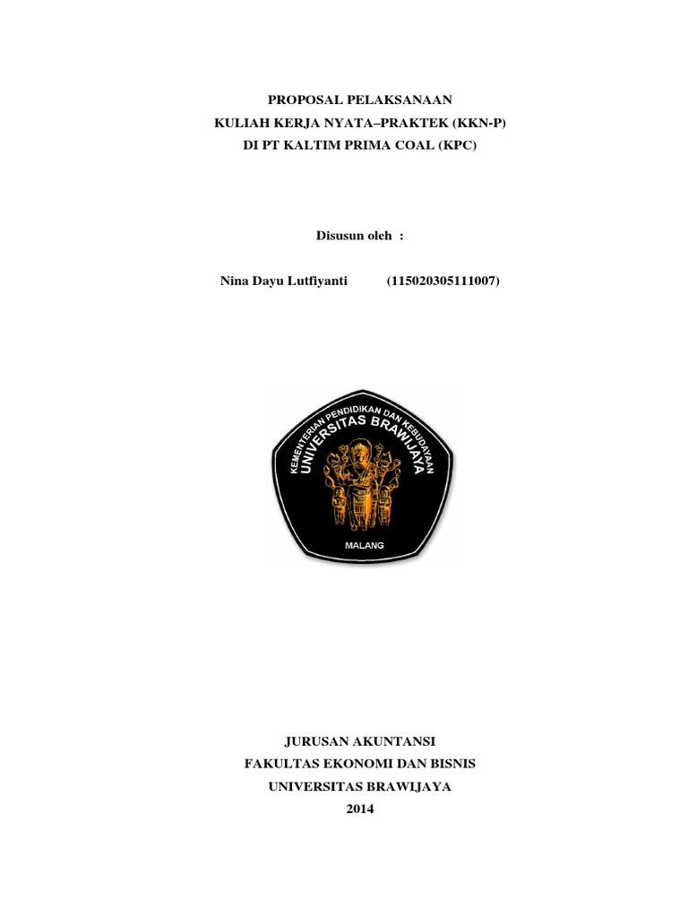 Proposal Kkn P Pt Kpc Akuntansi Bisnis