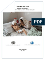 AFGHANISTAN  MIDYEAR REPORT 2014  PROTECTION OF CIVILIANS IN ARMED CONFLICT
