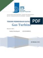 79215607 Gas Turbine Laporan