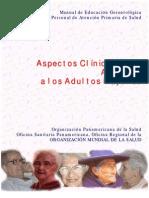 OPS. Manual de Educación Gerontolótica Para El Personald e APS