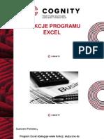 Cognity Kurs Excel -funkcje w Excelu.pptx
