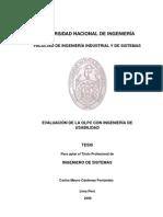 Tesis Evaluacion de la OLPC con Ingenieria de Usabilidad