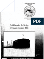 PIANC - Guidelines for the Design of Fender Systems, 2002