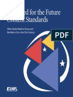 Stein - - - Excelent - - - Equipped for the Future Content Standards
