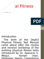 Framework of Physical Fitness Test2