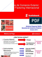 Financiamiento de Comercio Exterior- Factoring Int