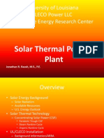 Solar Thermal Powerpoint 7-27-2011