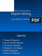 Report Writting