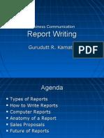 Report Writting