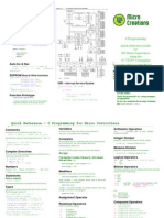 C Programming Quick Reference Guide