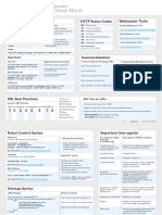 SEO Cheat Sheet by Moz